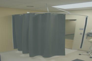 Ceiling Mounted Laser Barrier Grey