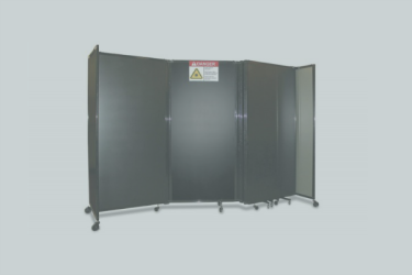 Portable Laser Barriers Grey