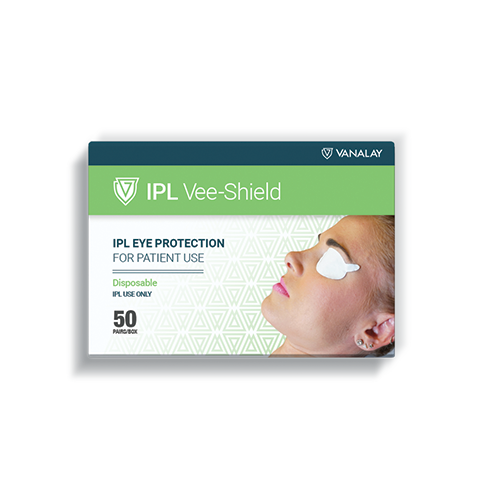 ipl vee shield disposable patient eye protection
