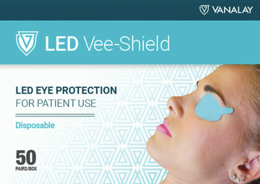 led vee shields disposable patient protection