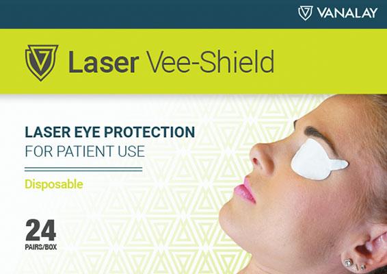 laser vee shields disposable patient protection