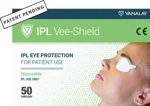 ipl vee shield patent pending ce