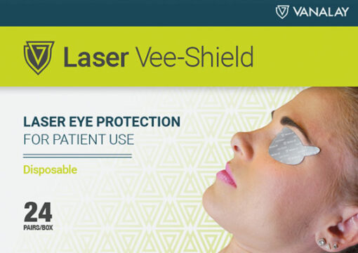 laser vee shield silver