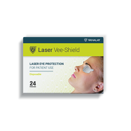 laser vee shield silver vanalay