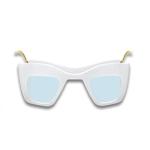 Primo GiT5 front laser eye protection