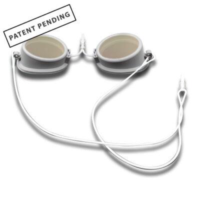 626.GiT1 patient laser goggles white