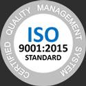 ISO 9001 innovative optics 2021